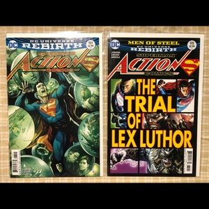 DC Comics Other - COPY - 19 DC Universe Rebirth Superman Action Com…